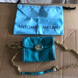 Antonio Melani small leather shoulder bag